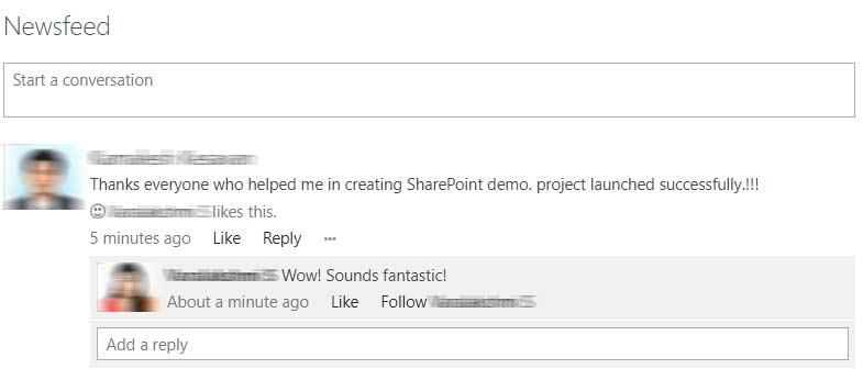 SharePoint web service