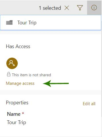 SharePoint Manage Access