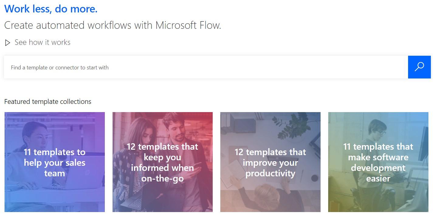 create microsoft flow