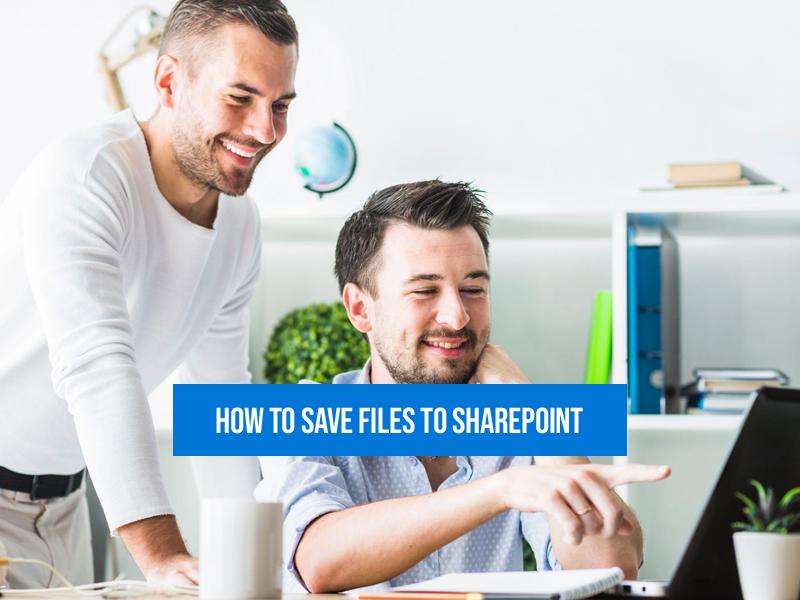 Save SharePoint files