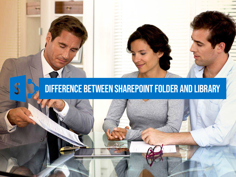 SharePoint folder and library