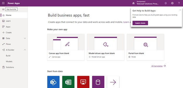 overview PowerApps