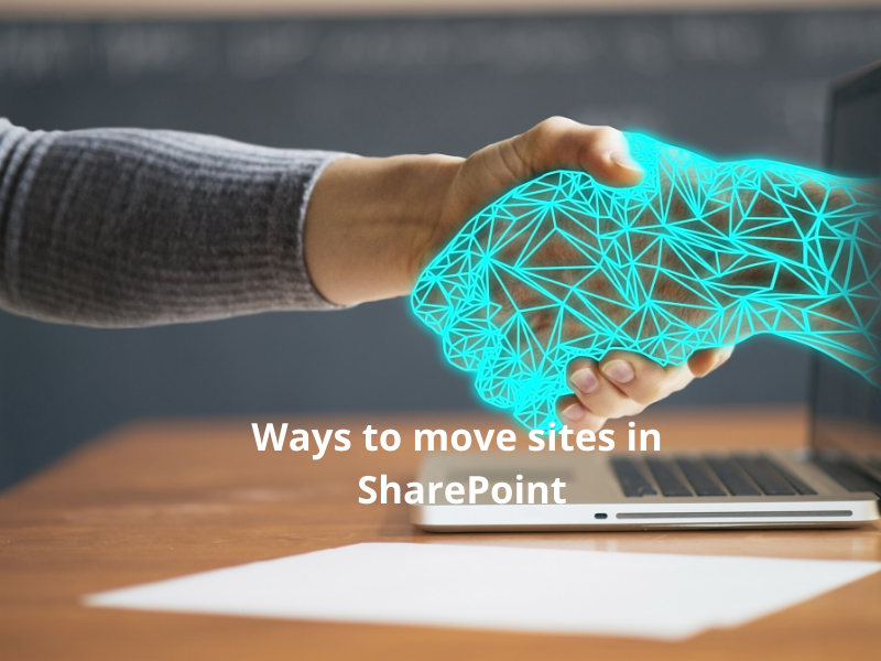 move site in SharePoint